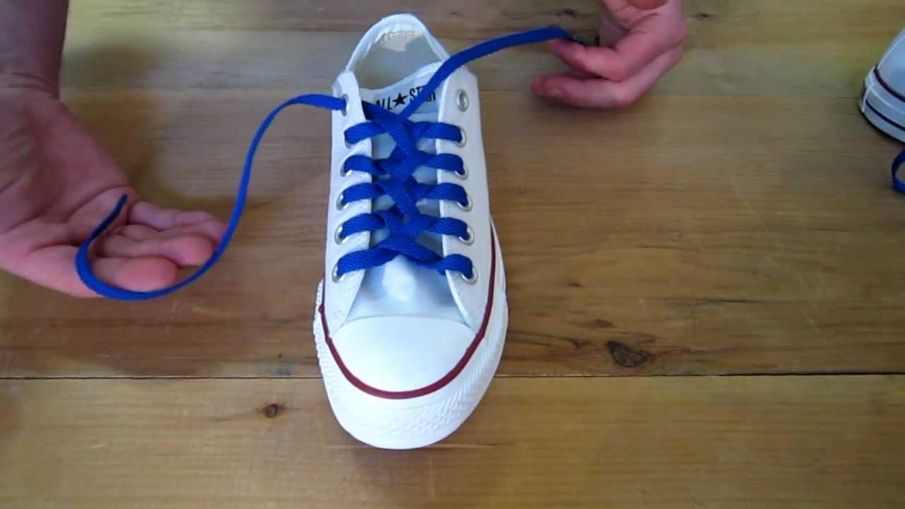 Zipper Lacing - Gaya mengikat tali sepatu keren