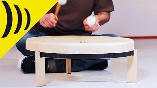 Frame Drum Traditional / Rahmentrommel mit Fuessen / Schlagwerk RTF60 // Murat Coşkun