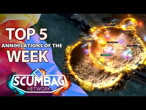 HoN Top 5 Annihilations of the Week - December 1st (2018)