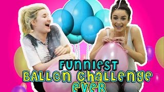 funniest balloon challenge ever kelly and carly vlogs w allaboutaoife