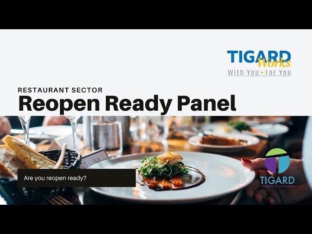 Washington County Reopen Ready - Restaurant Sector