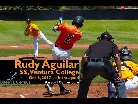 Rudy Aguilar, SS, Ventura College — October 6, 2017
