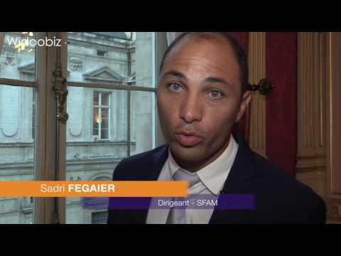 Prix de l'Entrepreneur de l'Année 2016 Rhône-Alpes Auvergne : Sadri Fegaier - SFAM