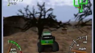 BasicGamePlay:Monster Truck Madness 64
