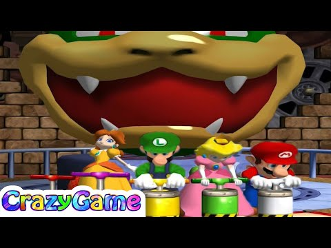 Mario Party 4 - All Survival Minigames Gameplay