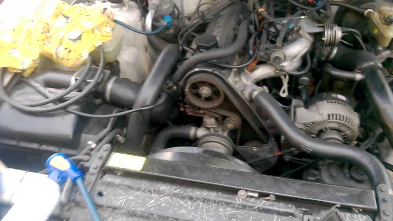 Volvo 940 Engine Belts Diagram Content Resource Of Wiring 760 1993 Turbo Timing Belt Squeak B230ft Seized Tensioner Rh Youtube Com C70