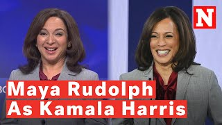 More Maya Rudolph As Kamala Harris On Saturday Night Live? Fans Are Here For It