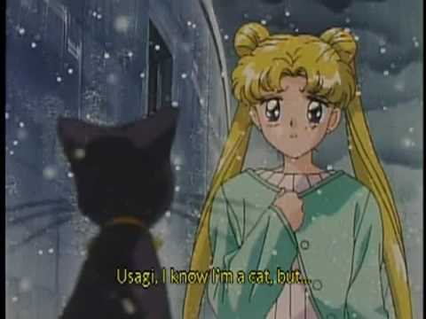 Princess Quotes Wallpaper Sailor Moon S Movie Hearts In Ice Sad Moment English