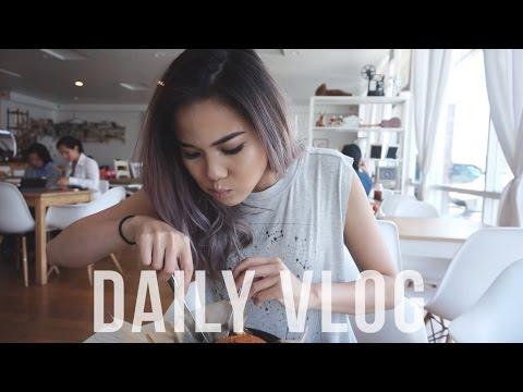 VLOG #12 ▸ JADI NAK PANTAI & CAFE DATE WITH BABY SIS!