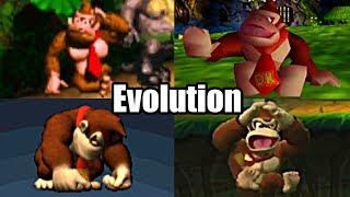 EVOLUTION OF DONKEY KONG DEATHS & GAME OVER SCREENS (1981-2014)  Atari, Super Nintendo, 64, Wii, ETC