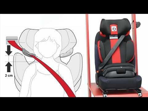 Peg-Perego Viaggio 2-3 Flex | установка автокресла
