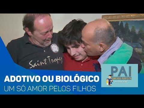 Pai adotivo ou biológico, um só amor pelos filhos - TV SOROCABA/SBT