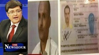 indian spy in pakistan an isi stunt to derail pathankot probe the newshour debate 25th mar 2016