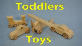 Read Full Article Here - http://goo.gl/U6RdxR This weeks video is making simple wooden toys for young children and help use up