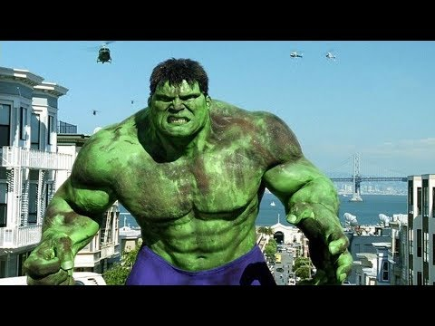 San Francisco Scene - Hulk Smash - Hulk (2003) Movie CLIP HD