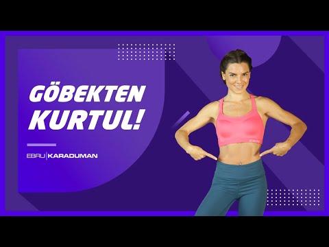 En Hızlı Kilo Verdiren Göbek Eritme Egzersizi!  | Ebru Karaduman