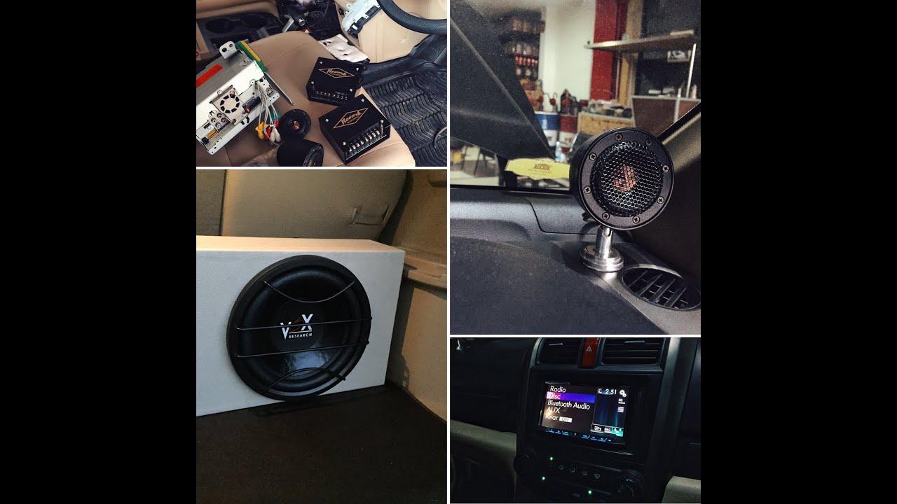 Modifikasi Audio Mobil Honda CRV Menggunakan Premium Sound Reverb