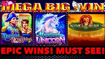 **MEGA EPIC WINS!**  My Best WMS SLOT WINS OF 2019! MUST WATCH!