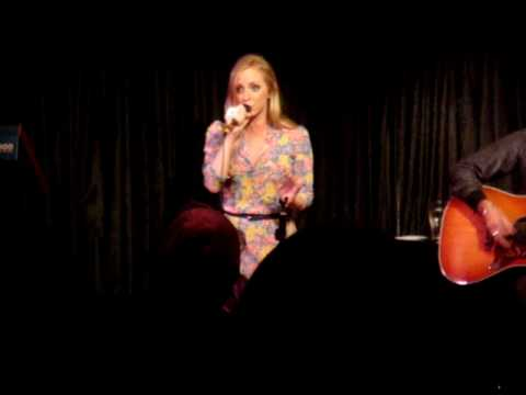 Lizzy Pattinson performing HANDS at the Regal Room
