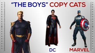The Boys And Their Marvel And DC Counterparts