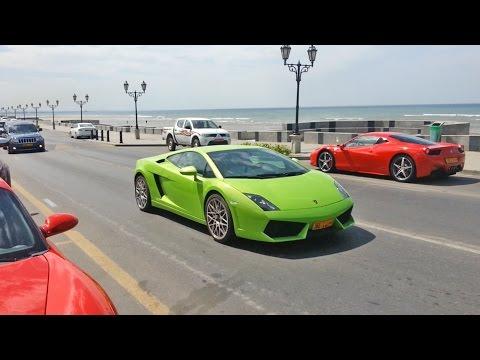 Exotic Cars in Muscat, Oman (2014 Special 1/3) - Lamborghini, Ferrari, Nissan