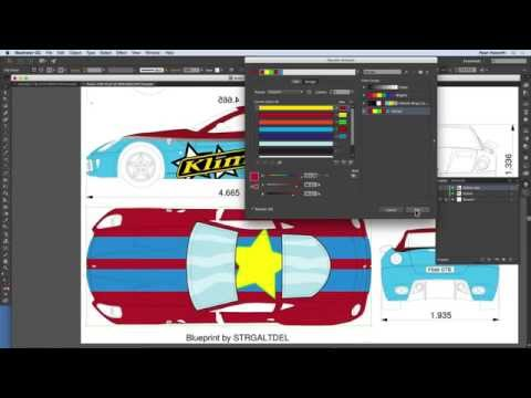 How To Recolor Artwork in Illustrator - Module 7.1