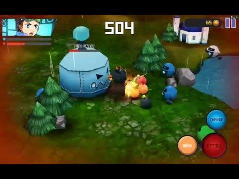 ROBOWAR - Robot VS Alien - Android gameplay PlayRawNow