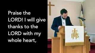 WHPC Worship Service Video - 06.21.20
