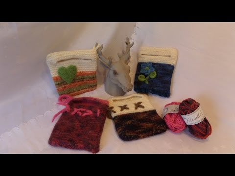 DIY:keka NEUE ebook , kindle, Tablet Tasche/ Hülle stricken + filzen