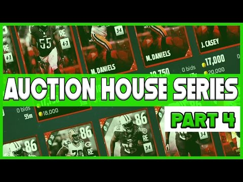 CRAFTING THE MONSTER DEFENSE!! - MUT 17 XB1 Auction House Series Pt.4