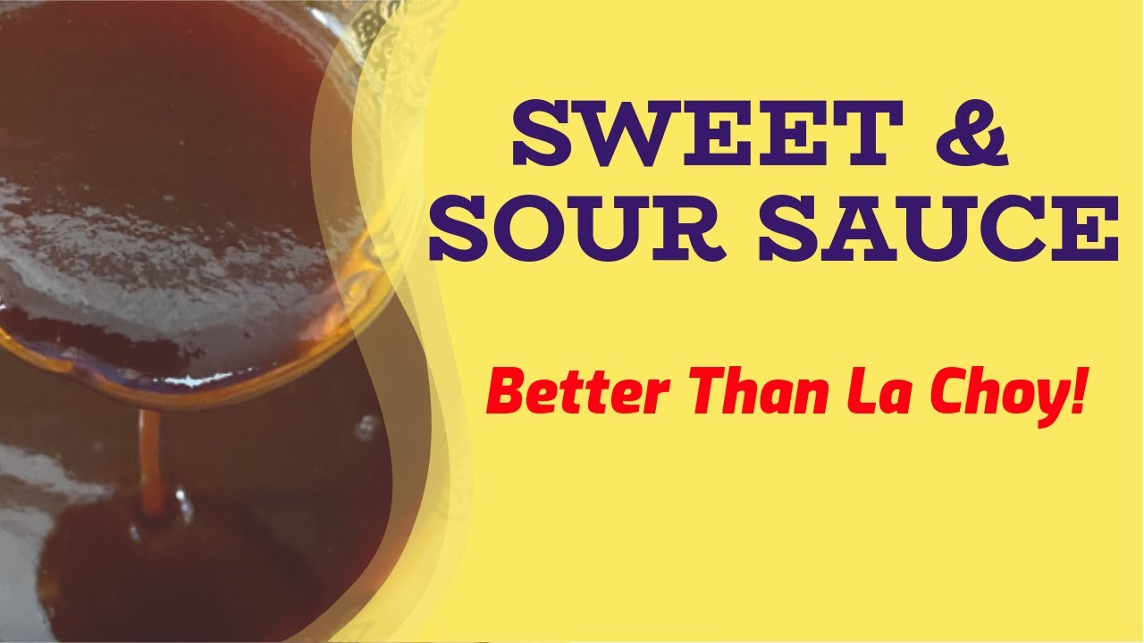 sweet  sour sauce better than la choy never buy that or