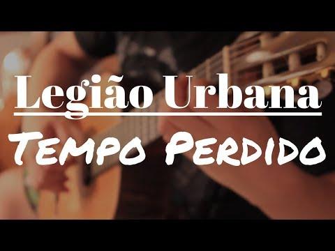 """Legião Urbana """"Tempo Perdido"""" no Violão Solo (Fingerstyle) Fabio Lima"""