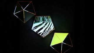 Video Projection Mapping - 3 Pentagons