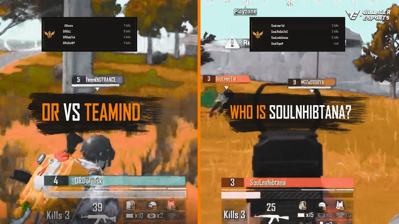 SouL new lineup domination • OR 22 Kills Chicken Dinner • TeamX Trio 13 kills #VE Scrims Highlights