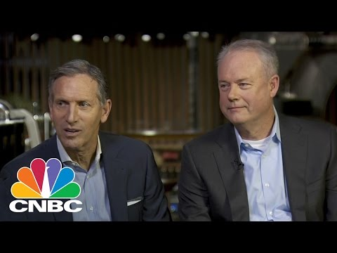 Howard Schultz: Kevin Johnson Is Better Prepared To Be Starbucks CEO | Squawk Box | CNBC