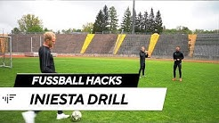 Der Iniesta Drill: Schulterblick-Training für eine bessere Übersicht | Fußball Hacks | iM Football