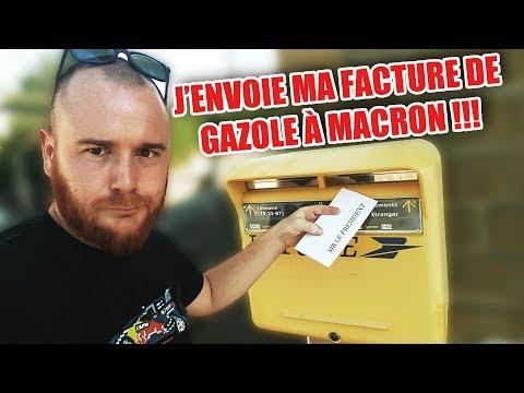 J'ENVOIE MA FACTURE DE GAZOLE À MACRON 😡😡😡