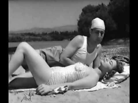Alberto Sordi e Giovanna Ralli, da Un eroe dei nostri tempi (1955) un film di Mario Monicelli
