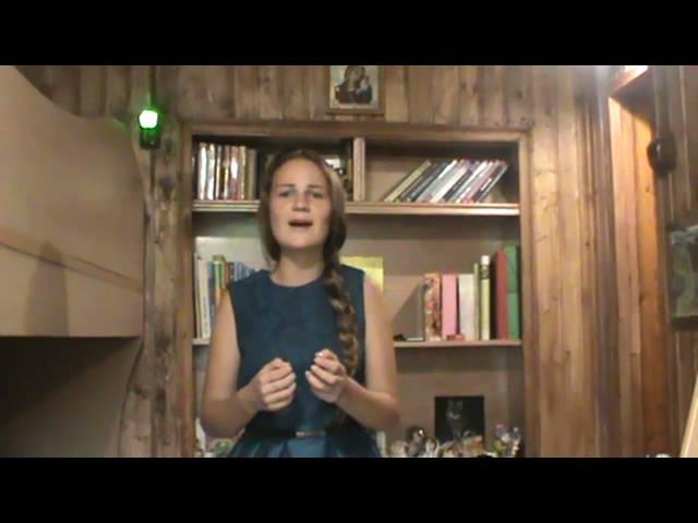 Эвелина Родионова читает произведение «Родине» (Бунин Иван Алексеевич)