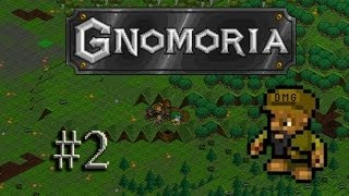 Let's play Gnomoria #2 - The great wall of Terror...            hand
