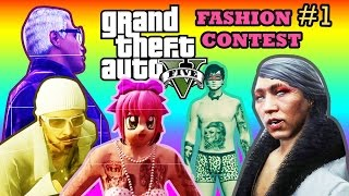 GTA V ONLINE | FASHION CONTEST #1 : MAKE IT BURN!