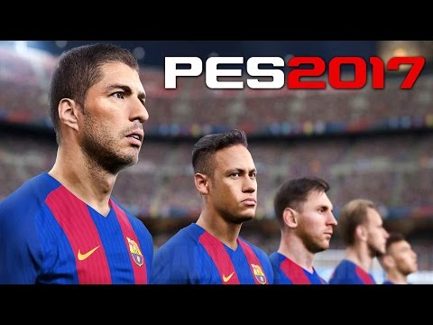 Pro Evolution Soccer 2017 - GamesCom 2016 Trailer @ 1080p (60ᶠᵖˢ) HD ✔