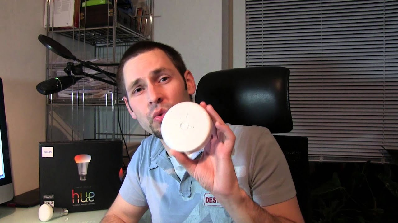 Philips HUE LED Lampen - Personal Wireless Lighting im Test - YouTube