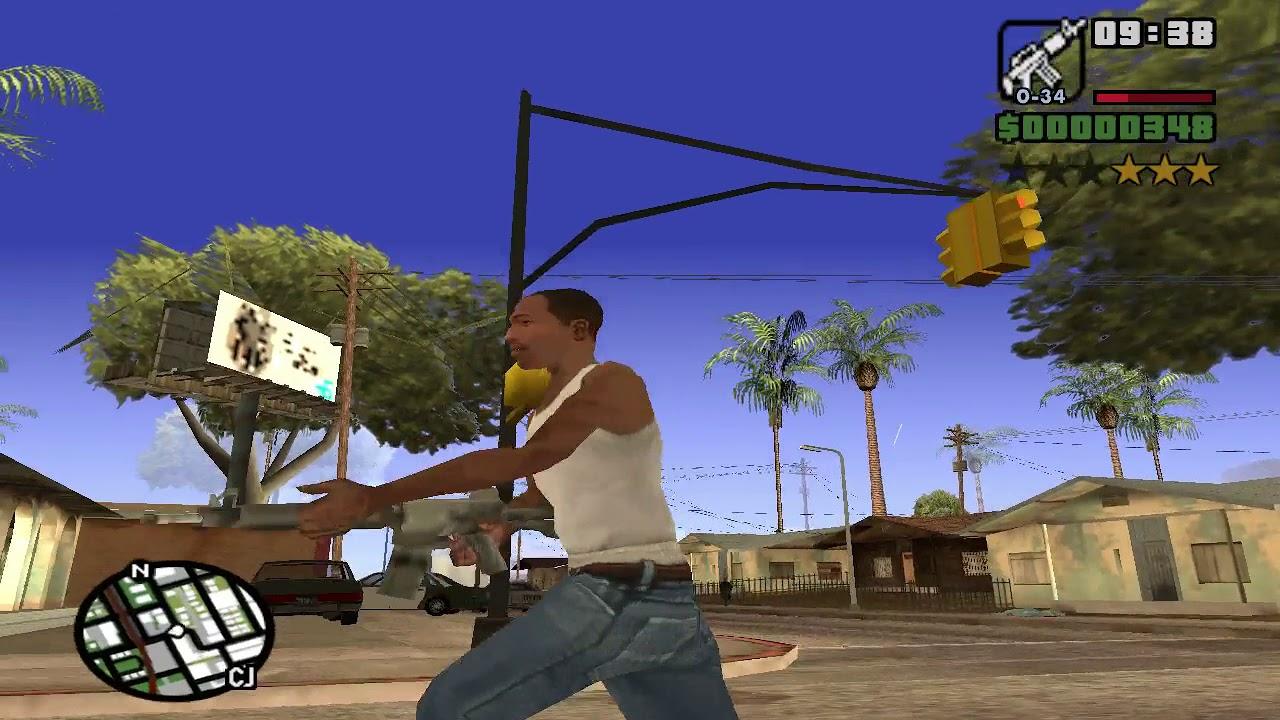 GTA San Andreas - FPS Tweaks & Lag Fix Patch for Low End PC Mod
