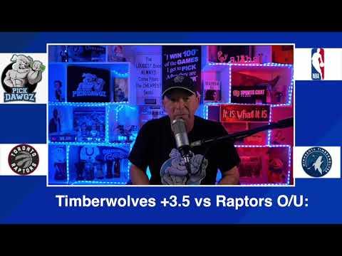 Minnesota Timberwolves vs Toronto Raptors 2/19/21 Free NBA Pick and Prediction NBA Betting Tips