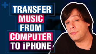 step by step tutorial for adding a music songs videos photos from your computer or laptop to iphone .