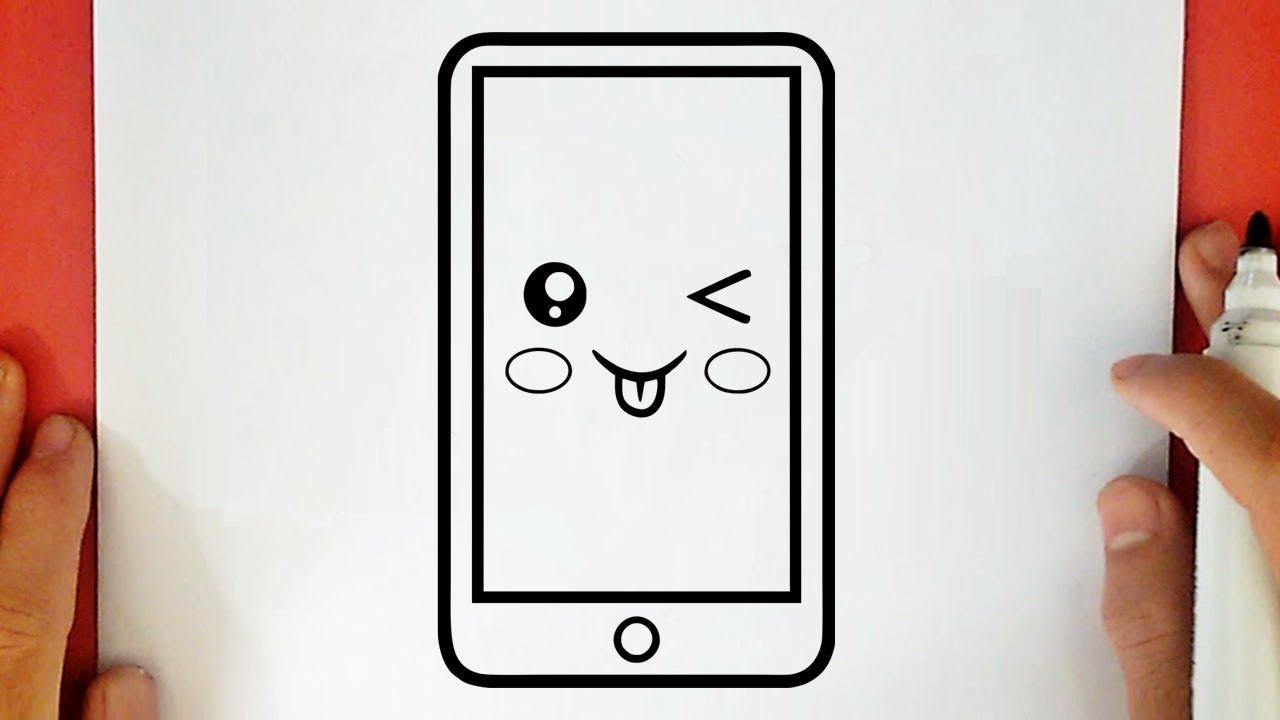 Comment Dessiner Un Téléphone Kawaii
