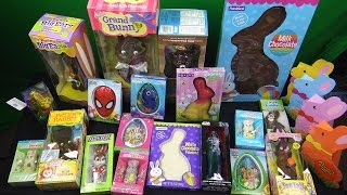 HUGE CHOCOLATE BUNNY'S & A LOT OF CANDY