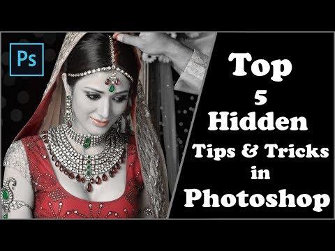 Photoshop Top 5 Best Hidden Tips, Tricks & Features For Photoshop CC,Cs3,Cs4,Cs5,Cs6 2017 Tutorials