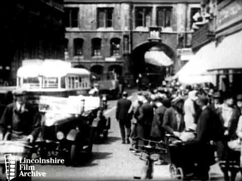 LINCOLN STREET SCENES circa 1930